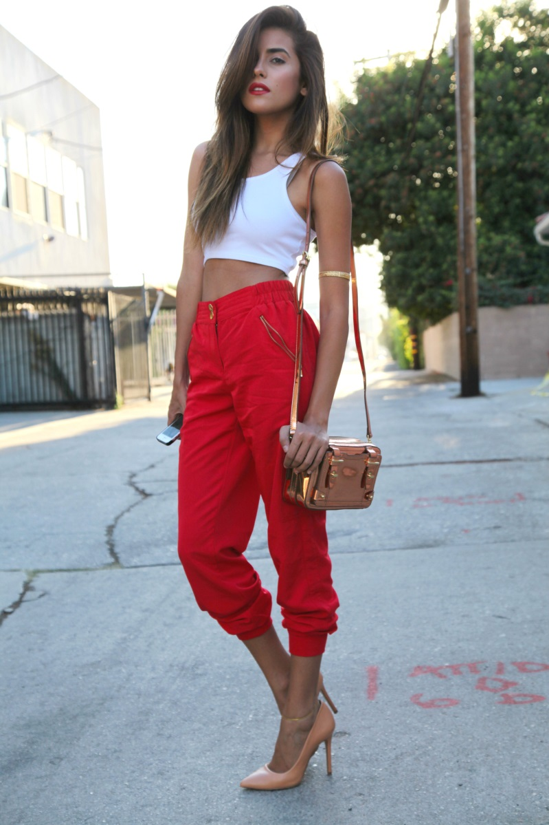 How To Wear Red Pants Insight Style